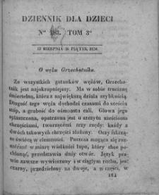 Dziennik dla Dzieci. 1830. T. 3. Nr 183