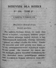 Dziennik dla Dzieci. 1830. T. 3. Nr 184