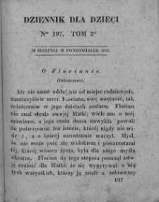 Dziennik dla Dzieci. 1830. T. 3. Nr 197