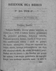 Dziennik dla Dzieci. 1830. T. 3. Nr 204