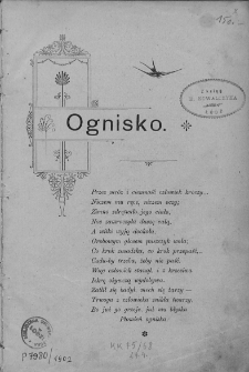 Ognisko. 1902, nr 1