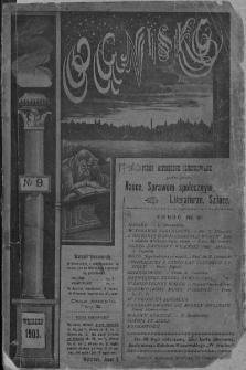 Ognisko. 1903, nr 9