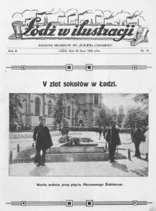 """Łódź w Ilustracji : dodatek niedzielny do """"Kurjera Łódzkiego"""" 1925 (Nr 30-52)"""