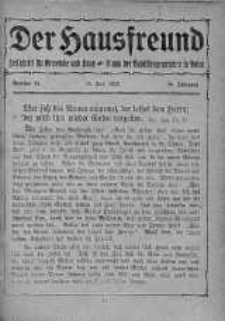 Der Hausfreund 10 czerwiec 1923 nr 23