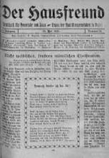 Der Hausfreund 25 maj 1924 nr 21